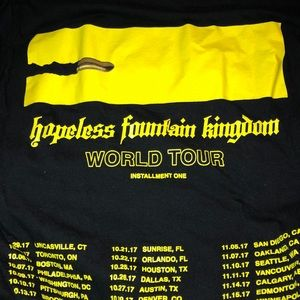 Halsey Hopeless Fountain Kingdom Tour T-shirt